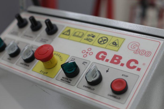 molatrice G300 per ripresa della saldatura