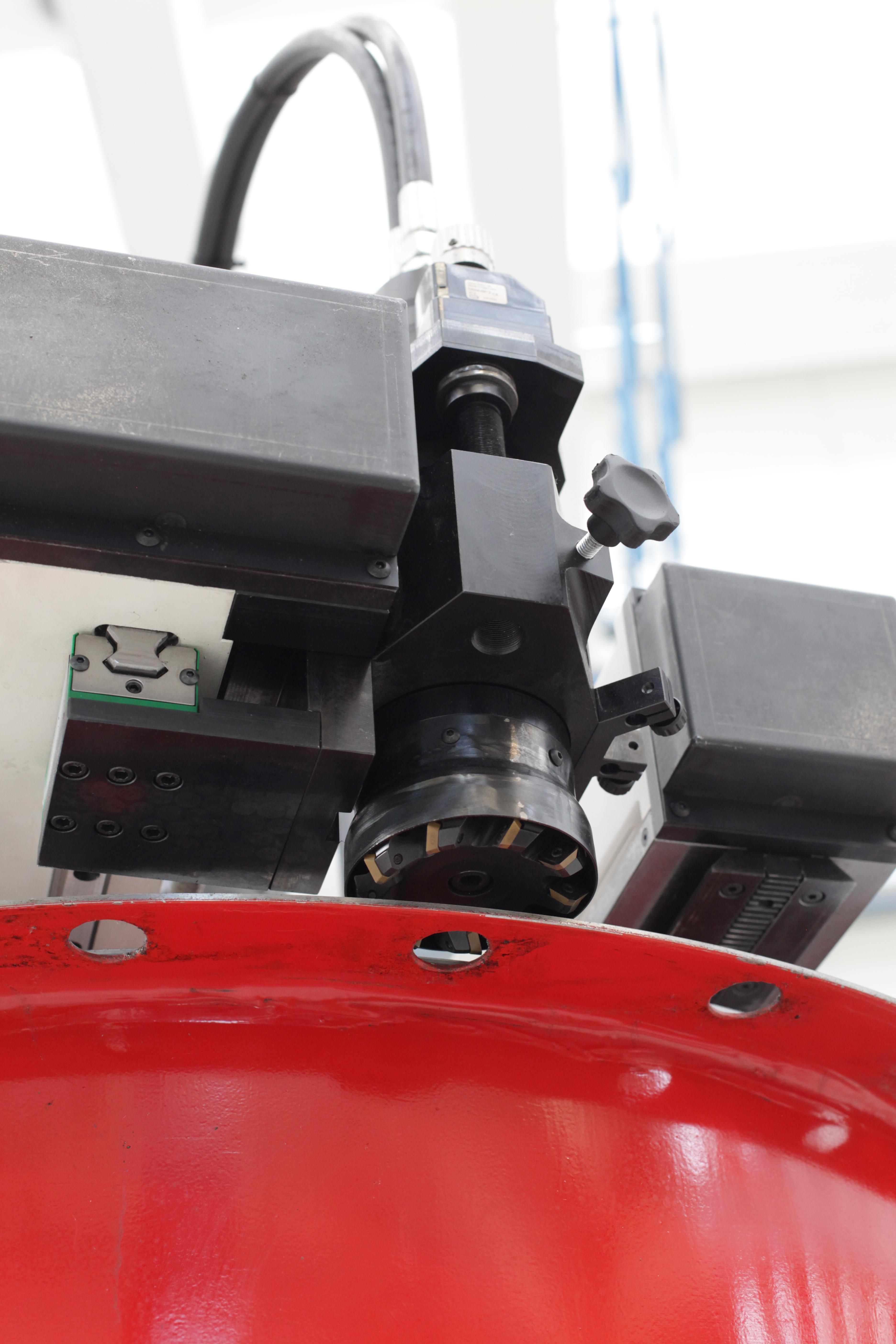 flange facing machine GBC Spider 12_70